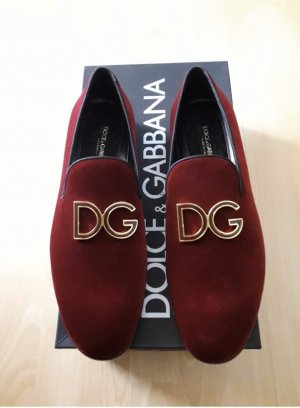 Dolce & Gabbana Scarpa Mary Jane bordeaux Pelle