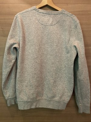 Canda Jersey trenzado gris claro