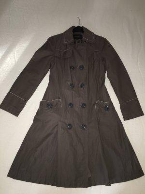 Trenchcoat gris violet