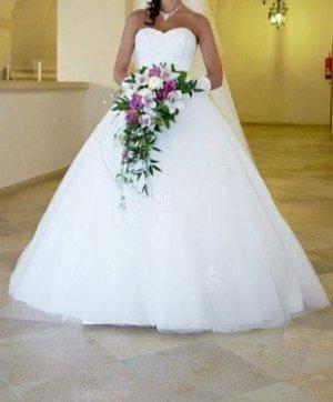 Märchenhaftes Brautkleid