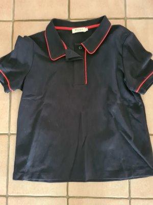 Maerz Muenchen Camiseta tipo polo rojo-azul oscuro