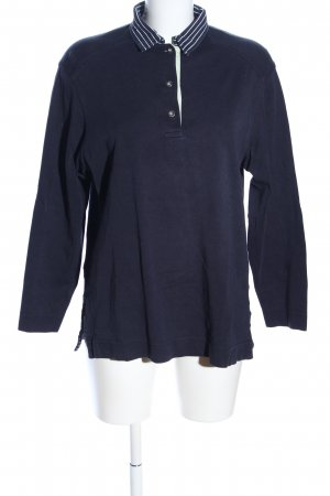 März Oversized Pullover blau Casual-Look