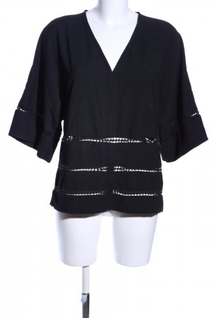 Slip-over Blouse black casual look