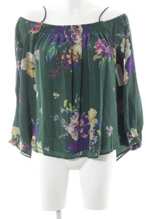 Maeve Ruche blouse veelkleurig Zijde