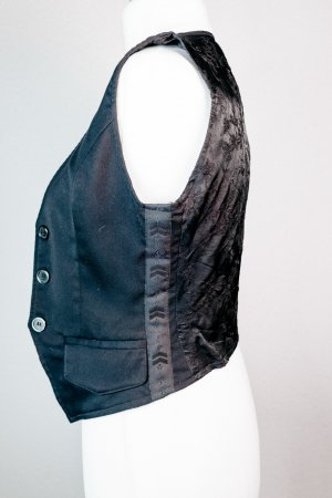 Maggie Reversible Vest black