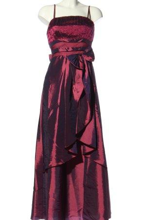 MAGGIE TANG Vestido de baile rosa degradado de color elegante