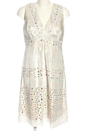 Magic Woman A-Linien Kleid weiß schlichter Stil