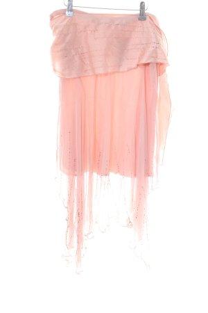 Magic Woman Falda asimétrica rosa elegante