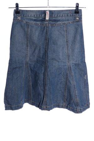 Magilla Gonna di jeans blu stile casual