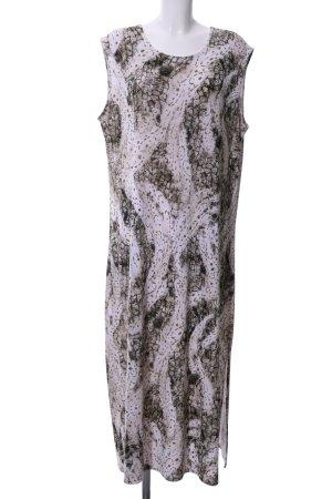 Magna Stretchkleid abstraktes Muster Elegant