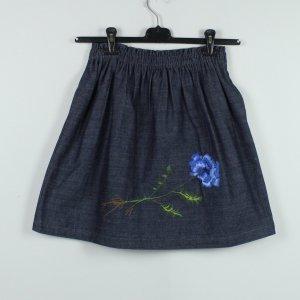 Mah Soyoung Rock Gr. S blau bestickt - NEU (19/10/379*)