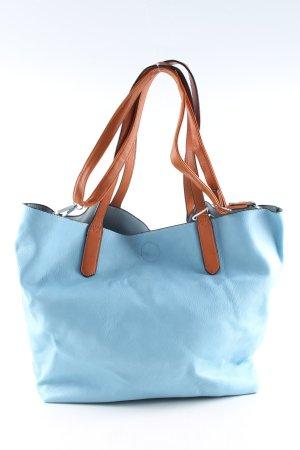 MaHel Comprador azul-marrón look casual
