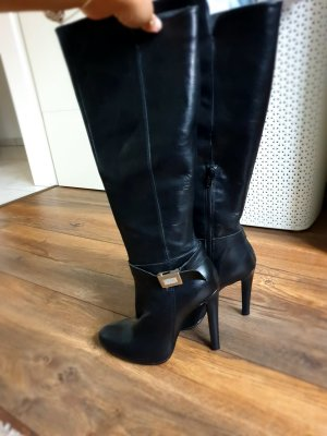Mai piu senza High Heel Boots black-silver-colored