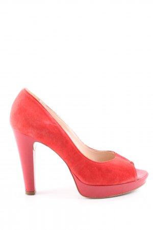 Mai piu senza High Heels rot Casual-Look