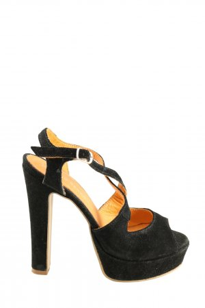 Mai piu senza High Heels schwarz Casual-Look