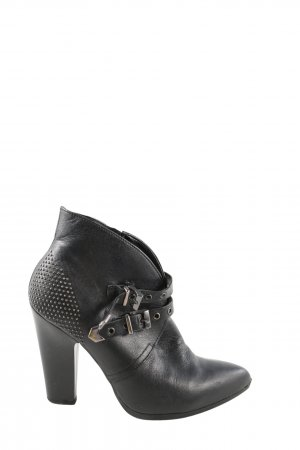 Mai piu senza Reißverschluss-Stiefeletten schwarz Casual-Look