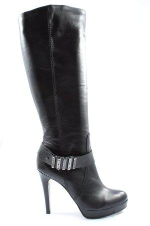 Mai piu senza Brede Schacht Laarzen zwart extravagante stijl