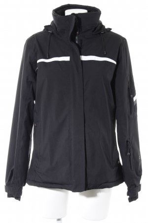 Maier Sports Outdoor Jacket black-white athletic style