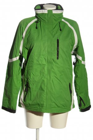Maier Sports Winterjacke grün-weiß Casual-Look