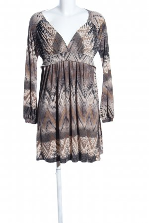 Maille Demoiselle Tunic Dress allover print casual look