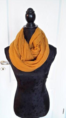 Écharpe tube orange clair-orange
