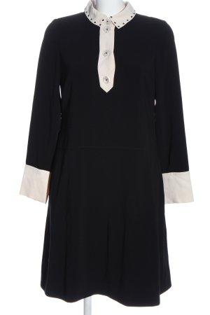 Maison Common Longsleeve Dress black-white casual look