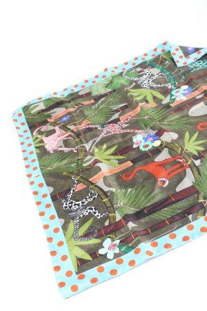 Maison Common Foulard en soie imprimé allover style décontracté