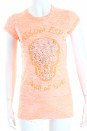 Maison Espin T-Shirt lachs Casual-Look