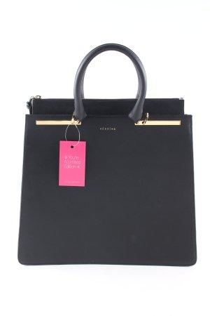 Maison Héroïne Handtasche schwarz Business-Look