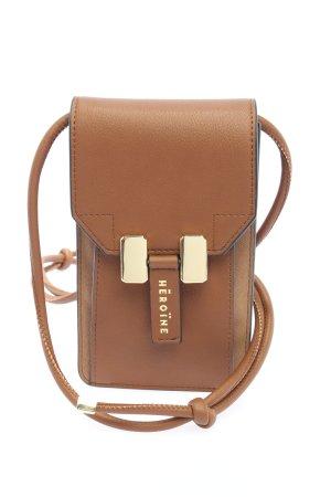Maison Héroïne Mini sac brun style d'affaires