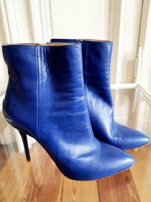Maison Martin Margiela Electric Blue Ankle Boots 39