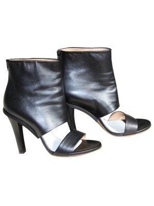 Maison Martin Margiela leather peeptoe ankle boots