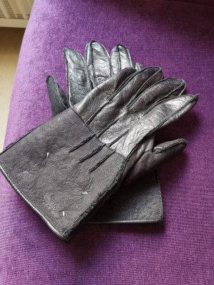 Maison Martin Margiela Leather Gloves black