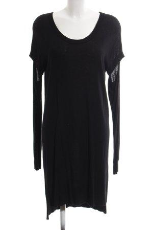 Maison Martin Margiela Pulloverkleid schwarz schlichter Stil
