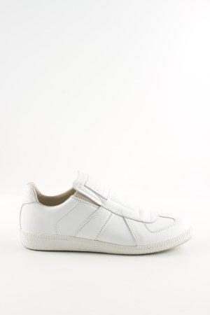 Maison Martin Margiela Sneaker slip-on bianco stile casual