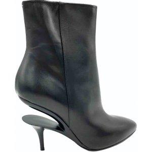 Maison Martin Margiela Stiefeleten schwarz, cut off heels, neue 37. nie getragen!