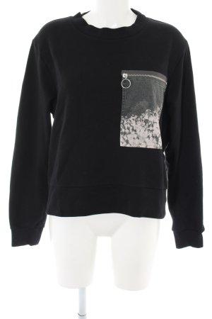 Maison Martin Margiela Sweatshirt schwarz Casual-Look