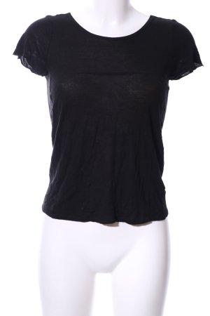 Maison Martin Margiela T-Shirt schwarz Casual-Look