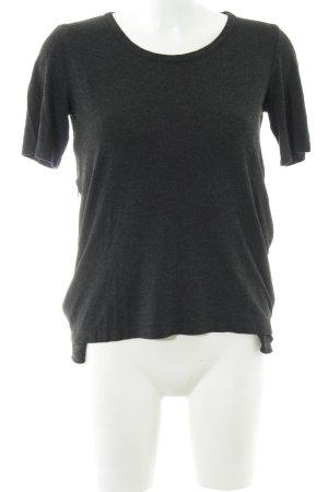 Maison Martin Margiela T-Shirt schwarz meliert Casual-Look