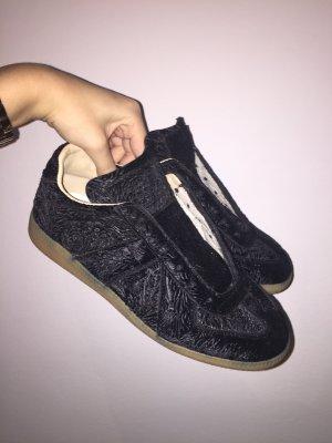 Maison Martin Margiela velvet sneakers