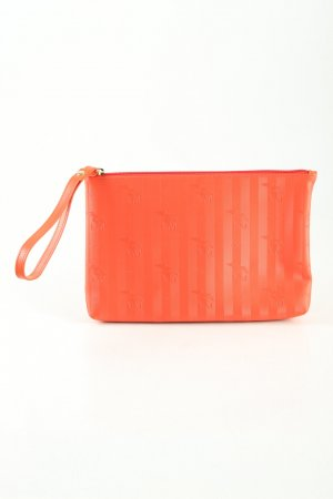 Maison Mollerus Clutch rot Allover-Druck Casual-Look