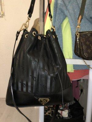 Maison Mollerus NIESEN schwarz Beuteltasche Handtasche TopZustand