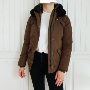 Maison Scotch Oversized Jacket black-khaki