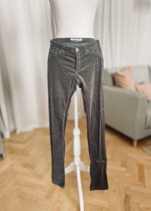 Maison Scotch Corduroy Trousers grey-dark grey cotton