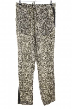 Maison Scotch Baggy Pants creme-schwarz Leomuster Casual-Look