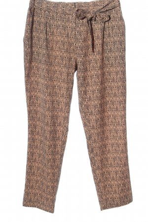 Maison Scotch Baggy Pants nude-black allover print casual look