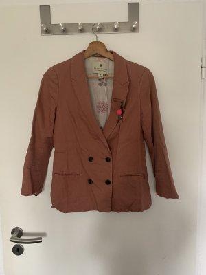 Maison Scotch Korte blazer mauve-stoffig roze