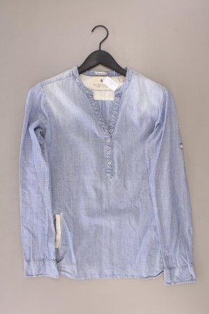 Maison Scotch Bluse Größe M blau aus Baumwolle