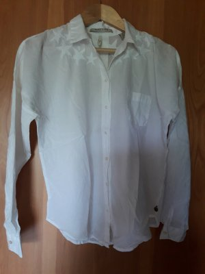 Maison Scotch.  Bluse. weiß.