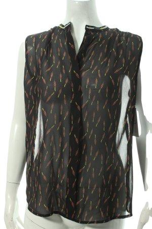 Maison Scotch Blouse topje prints met een thema zakelijke stijl